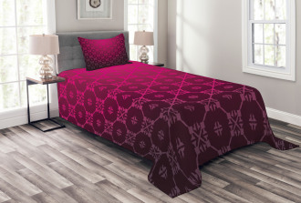 Medieval Style Stripes Bedspread Set