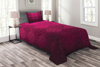 Rectangular Forms Bedspread Set