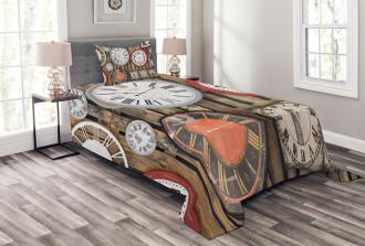 Vintage Wall Bedspread Set