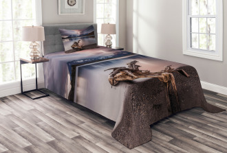 Reflections to Mountain Bedspread Set