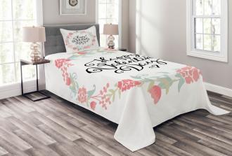 Buds Roses Tulip Bedspread Set