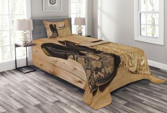 Texas Snake Cowboy Bedspread Set