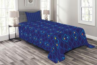 Geometric Mosaics Bedspread Set