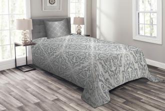Monochrome Victorian Bedspread Set