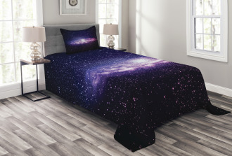 Nebula Cloud Milky Way Bedspread Set