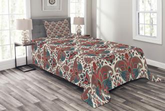 Oriental Ethnic Persian Bedspread Set