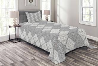 Victorian Oriental Retro Bedspread Set