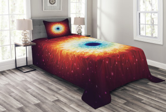 Galaxy with Magical Stars Bedspread Set