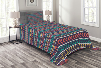 Native American Style Bedspread Set