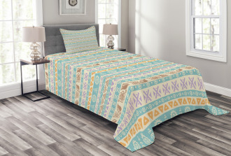 Old Fashion Mythical Art Bedspread Set