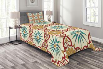 Sacred Geometric Forms Bedspread Set