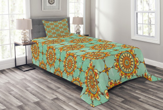 Eastern Victorian Form Bedspread Set
