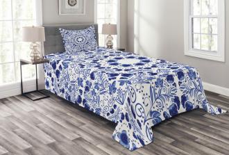 Ethnic Oriental Boho Bedspread Set