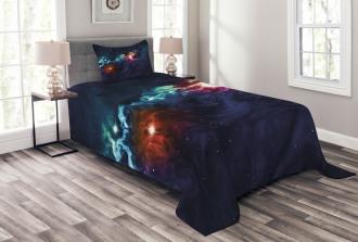 Cosmos Galactic Star View Bedspread Set