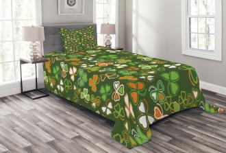 Lucky Clover Bedspread Set