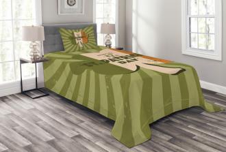 St. Patricks Day Bedspread Set