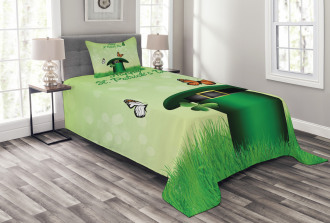 Irish Hat Charm Bedspread Set