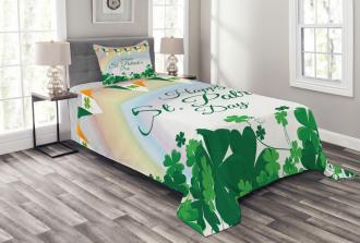 Rainbow Flags Bedspread Set