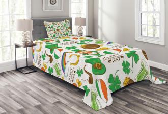 Irish Party Bedspread Set
