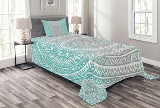 Tribe Mandala Zen Bedspread Set