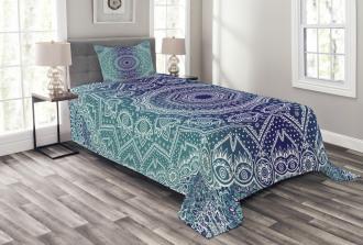Ombre Tribe Bedspread Set