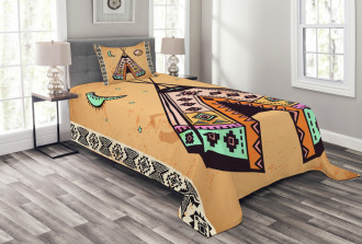 Native Bohemian Signs Bedspread Set