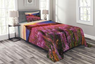 Spring Mountains Floral Bedspread Set