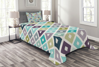 Geometrical Triangles Bedspread Set