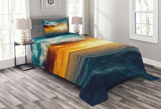 Magical Horizon Panorama Bedspread Set