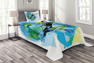 Exotic Sealife Hobby Bedspread Set