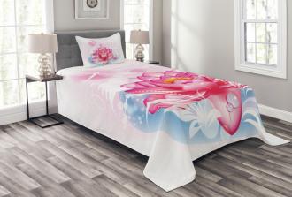 Mandala Yoga Lotus Bedspread Set