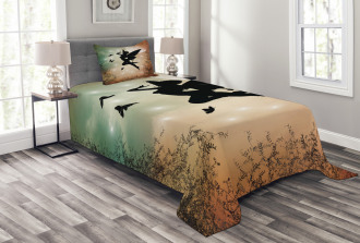 Fairy and Butterfly Wing Bedspread Set