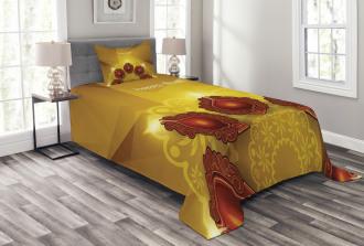 Paisley Traditional Tribal Bedspread Set