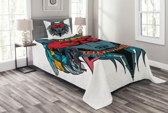 Wolf Animal Theme Bedspread Set