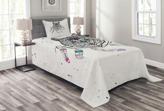 Inspirational Wild Free Bedspread Set