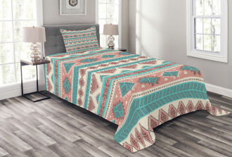 Aztec Art African Style Bedspread Set