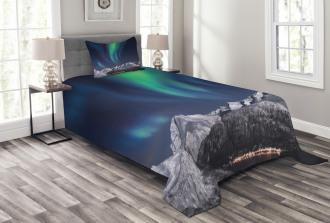 Northern Night Norway Solar Bedspread Set