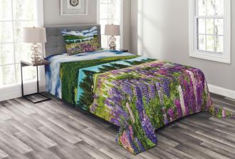 Lake Floral Petals Bedspread Set