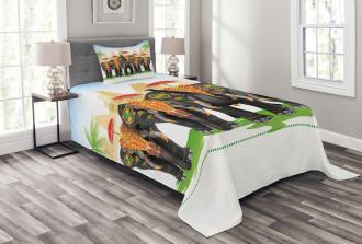 Traditional Ritual Bedspread Set