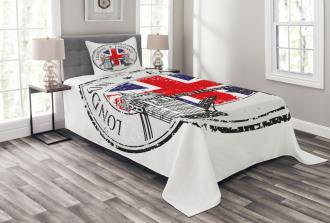 Flag Nostalgic National Bedspread Set
