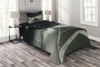 Interior Urban Tunnel Bedspread Set
