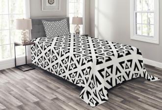 Modern Triangle Bedspread Set