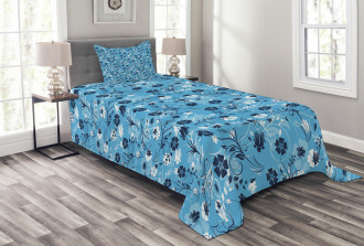 Shabby Chic Petals Bedspread Set