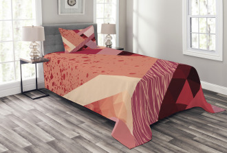 Modern and Artistic Design Bedspread Set
