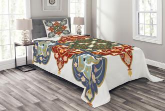 Turkish Ottoman Arabic Bedspread Set