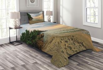 Tropic Botanic Forest Bedspread Set