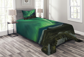 Polaris Mountain Bedspread Set