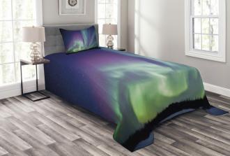 Solar Sky Stars Bedspread Set