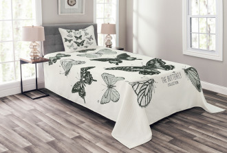 Modern Realistic Artwork Bedspread Set