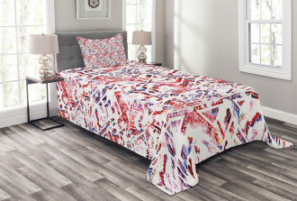 Ethnic and Tribe Motifs Bedspread Set
